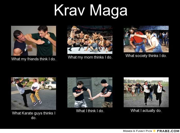 Krav maga funny captions