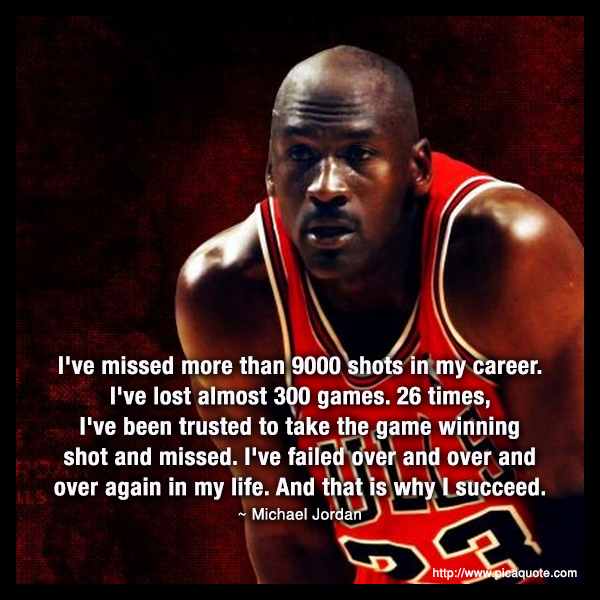 failure michael jordan